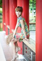 In cheongsam 14 by Agnes108