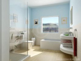:: bathroom v1 :: by voodoo-butta