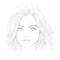 Lucy Hale Quick Sketch by MarcAzria