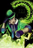 E.Nigma aka The Riddler by c-r-o-f-t