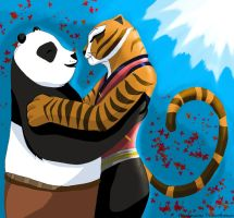Po and Tigress-PS by AlonDarsSister