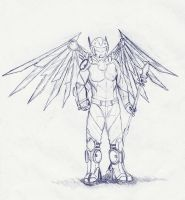 angel armor by autobot0d41r