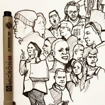 More NYC doodles by napalmzonde