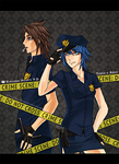 KHPD: Officers Terra + Aqua by Sea-Dragon