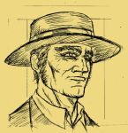 Once upon a time in the west: Henry Fonda as Frank by GrailALPHA