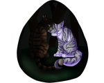 Hawkfrost and Ivypool by BlazeDestroyed