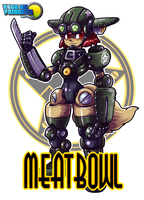 MachinePrincess:MEATBOWL by sarikyou