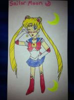 Sailor Moon by airbornewife71