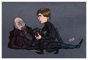 The Death of Anakin Skywalker. by stayte-of-the-art