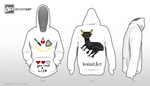 8-bit game Deviantart Hoodie Design by DaeJangGeum01