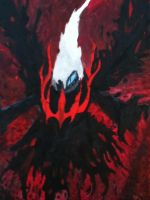 Darkrai Oil Painting by HauntedsoulSouleater