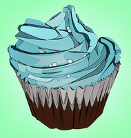 Cuppy Cake Vector 2 by RobynWard