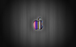 Apple HD Gray Wallpaper MAC by CezarisLT