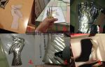 Bayonetta 2 cosplay - Boots WIP, THE TUTORIAL by JudyHelsing
