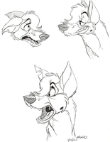 ADGTH-Bluthy Jazz sketches by NY-Stray
