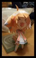 Papercraft - foxgirl by flames-of-monki