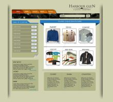 harbour glen web layout sample by injured-eye