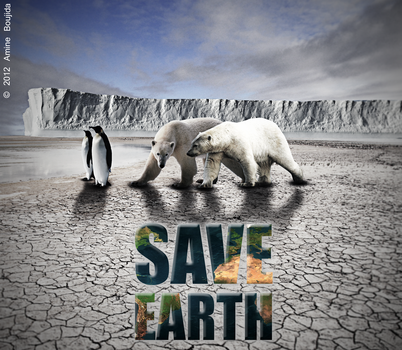 Save Earth by Aminebjd