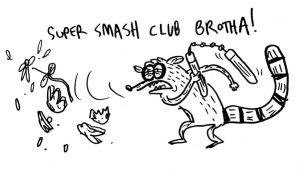 super smash club brotha by JGQuintel