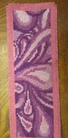 Cross Stitch Bookmark by silverdragoness