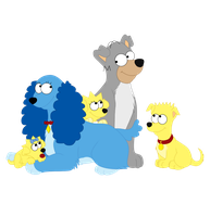 Lady and the Tramp:Simpsons by Versaci