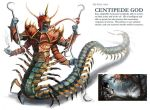 Centipede god creature design and Keyframe by Denaliah