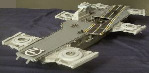 Omega 7 Helicarrier by Roguewing