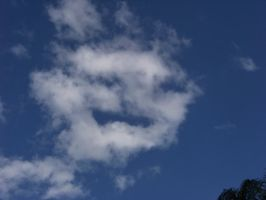 Me Gusta Face in the clouds by Dream-finder