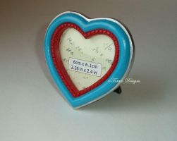 Heart Piece Container Photo Picture Frame Zelda by TorresDesigns