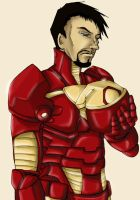 Alas, poor Tony - Ironman by Sharky-chan