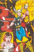 Female Thor Commission 2 by Zespara