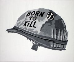 Full Metal Jacket by Claon