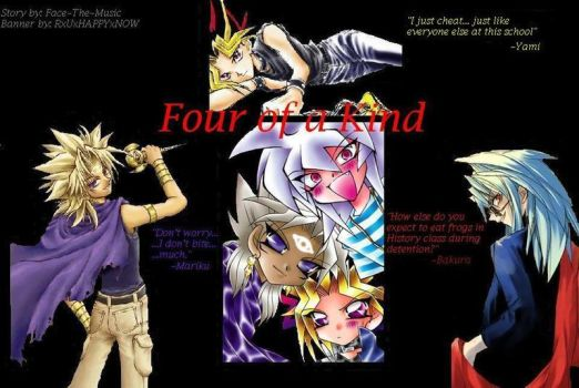 'Four of A Kind' Banner by Kay-Kay-13