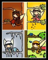 Faeries Seasons by cippow25