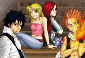 Fairy Tail by J-e-J-e