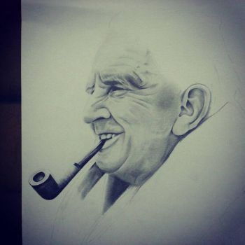 The King Jrr Tolkien by kevseher
