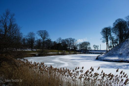 Frozen Lake of Kastellet by WorldsInWorld