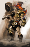 Diablo 2 Barbarian by EnriqueNL