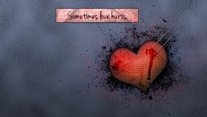 Sometimes love hurts. by xdarkaro