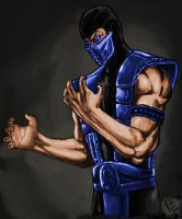 Colored Sub Zero for Stryfers by SpecterBlaze