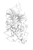 Just Goku from GT by marvelmania