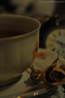 A Cup Of Tea by Piellapaka