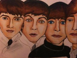 The Beatles by horserock100