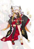 [CLOSED] Adopt auction - Monster Onmyouji by hieihirai