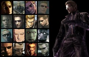 Albert Wesker: 15 Years of Evil by maxamusholden