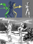 Super Strike 10 Humanized Character Dump by Capella336