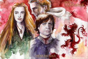 House Lannister by w1tchbones