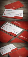 Corporate Business Card by FlowPixel
