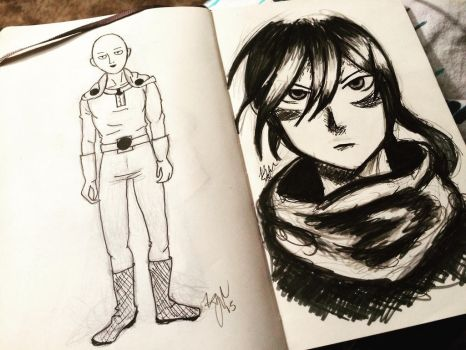 One Punch Man by katiekat228