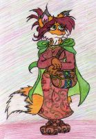 May Autumntail, tailoress of Aspen Village by JacobMace